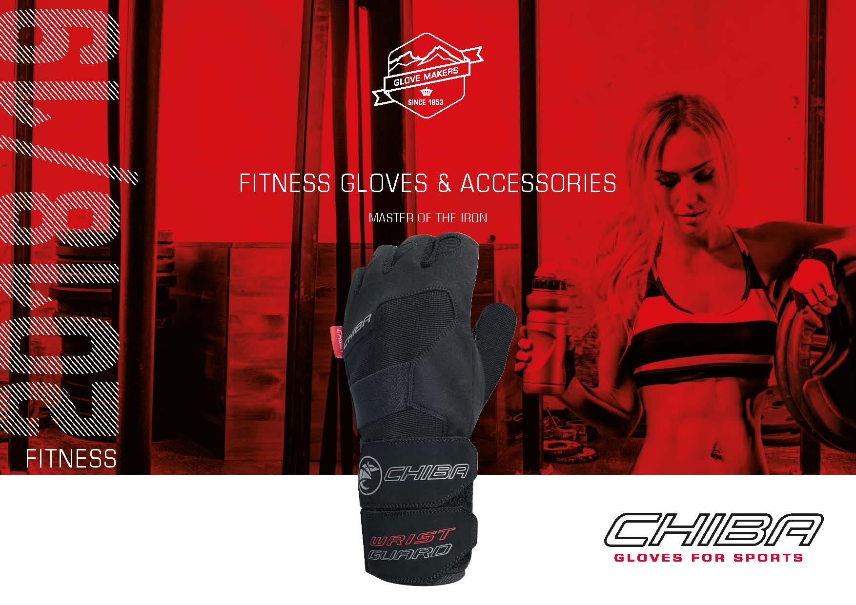 Chiba Cool Air Handschuhe versch Größen Weiß Sport Training Fitness NEU