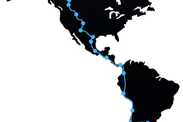 Amerika Karte frei